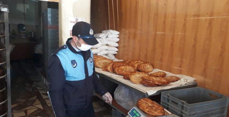 Sandıklı'da Zabıta ekiplerinden  Ramazan denetimi