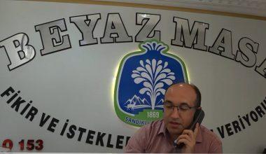 BAŞKAN ÇÖL BEYAZ MASA'DA TALEPLERİ TOPLADI