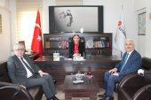 İletişim Başkanlığı Afyonkarahisar Bölge Müdürü Ş. Münire Burcu'ya Ziyaret