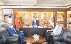 Şırnak İdil Sırtköy'den Başkan Çöl'e ziyaret