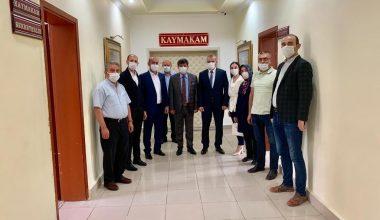 Sandıklı AK Parti İlçe Teşkilatı Kaymakam Tortop'u Ziyaret Etti