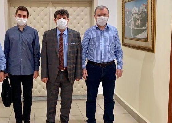 Carbon Cropscience Kimya Tarım San. ve Tic. A.Ş. Yönetim Kurulu Başkanı Kaya'dan ziyaret