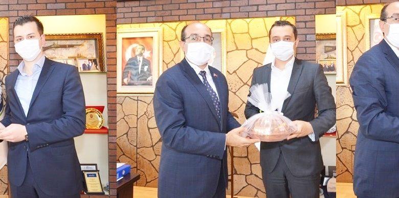 Savcılar'dan Başkan  Mustafa Çöl'e veda ziyareti
