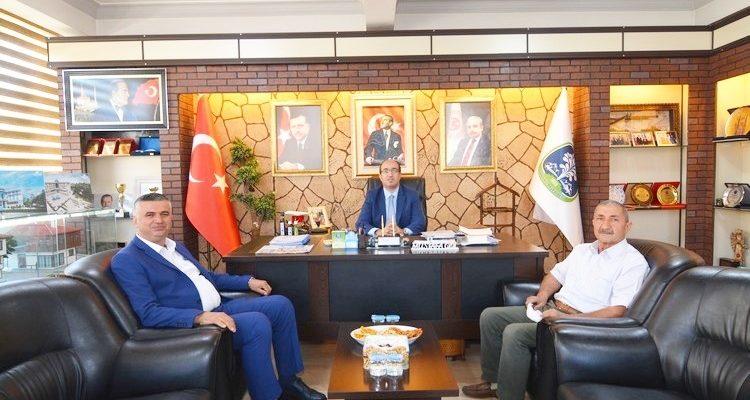 Isparta Sav Belediyesi'nden  Başkan Mustafa Çöl'e ziyaret