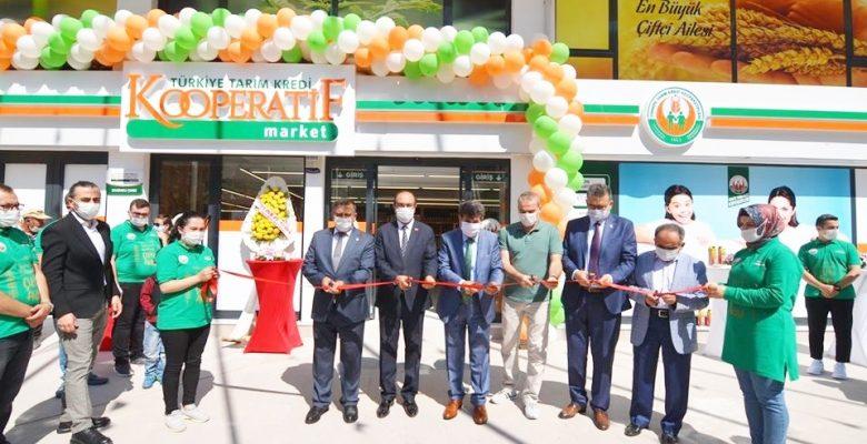 Kooperatif Market'in  açılışı yapıldı