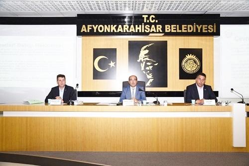 Afyon Çevre Hizmetleri Birliği  Meclis toplantısı yapıldı