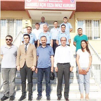Başkan Mustafa Çöl Açık Cezaevi'nde incelemelerde bulundu