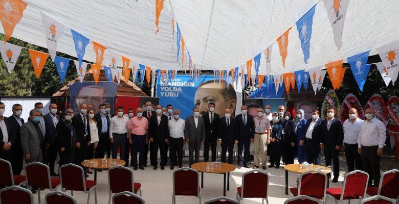AK Parti'de Merkez İlçe ve Sandıklı Kongreleri coşkuyla gerçekleştirildi