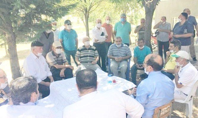 Başkan Mustafa Çöl,  TOKİ'de vatandaşlarla buluştu