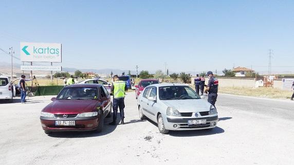 Jandarma'dan Helikopter destekli trafik denetimi