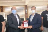 AK Gençlik'ten başkan Mustafa Çöl'e ziyaret