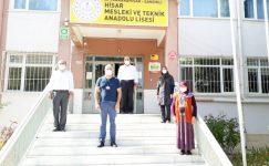 """Hisar Mesleki ve Teknik Anadolu Lisesinde """"Okulum Temiz Projesi"""""""