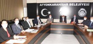 Çevre Hizmetleri Birliği toplantısı yapıldı