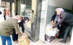 Gönüllü Hanımlar'dan Depremzedelere destek