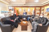 İnternet Gazetecilerinden Başkan Çöl'e ziyaret