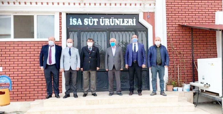 Sandıklı'da OSB toplantısı yapıldı