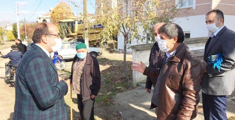 Başkan Çöl, Tabduk Emre Mahallesini ziyaret etti