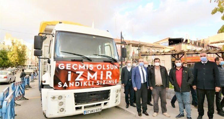 Sandıklı İzmir için, 'TEK YÜREK'