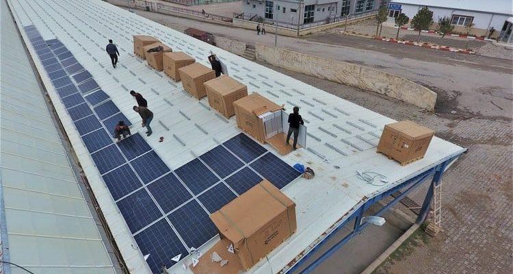 Sandıklı Belediyesi güneş enerjisi projesi