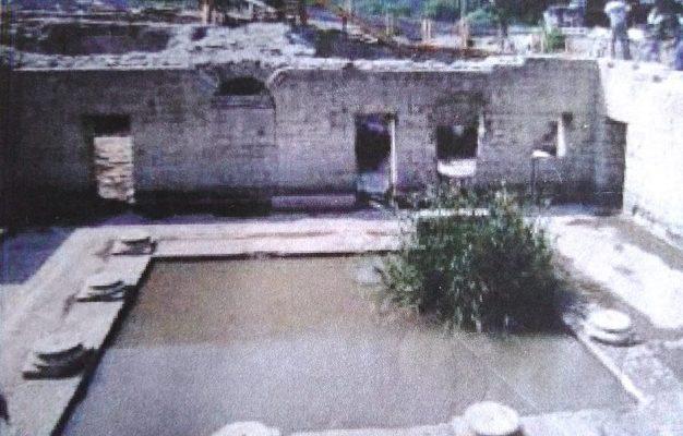 Hüdai Kaplıcaları'ndaki Roma Hamamı
