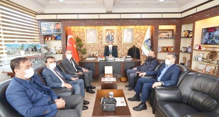 Milli Eğitim Müdürü Bozkurt'tan Başkan Çöl'e ziyaret