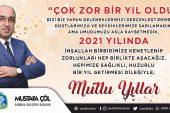 Başkan Mustafa Çöl, Vatandaşların Yeni Yılını kutladı