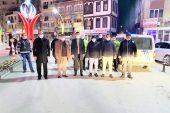 Kaymakam Eflatun Can Tortop ve Belediye Başkanı Mustafa Çöl,  yılbaşı denetimlerini inceledi