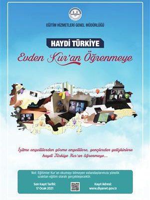 Haydi Türkiye Kur'an Öğrenmeye