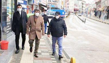 Sandıklı'da sokağa çıkma kısıtlamasında denetimler sürüyor