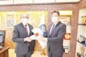 İl Emniyet Müdürü Temiz'den Başkan Çöl'e ziyaret