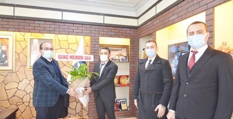 Genç Memur Sendikası'ndan Başkan Mustafa Çöl'e ziyaret