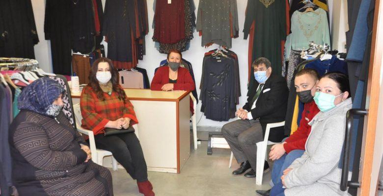 Bedesten Çarşısındaki Kadın Esnaflara Ziyaret