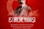 Kaymakam Eflatun Can Tortop' un 12 Mart İstiklal Marşı'nın Kabulü Günü Mesajı