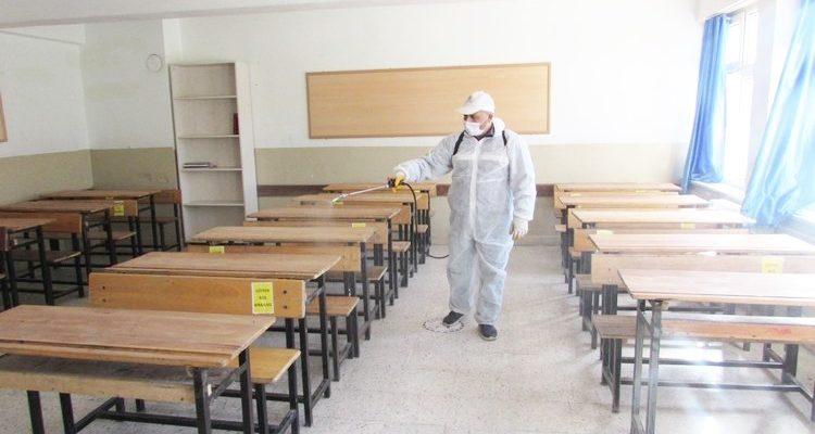 Sandıklı'da okullar yüz yüze eğitime hazır