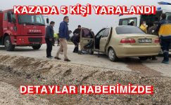 Sandıklı'da trafik kazası 5 yaralı