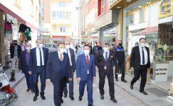 Vali Çiçek ve Milletvekili Eroğlu'ndan SANDIKLI ZİYARETİ
