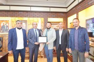 TÜRSAB'DAN Başkan Mustafa Çöl'e Teşekkür ziyareti
