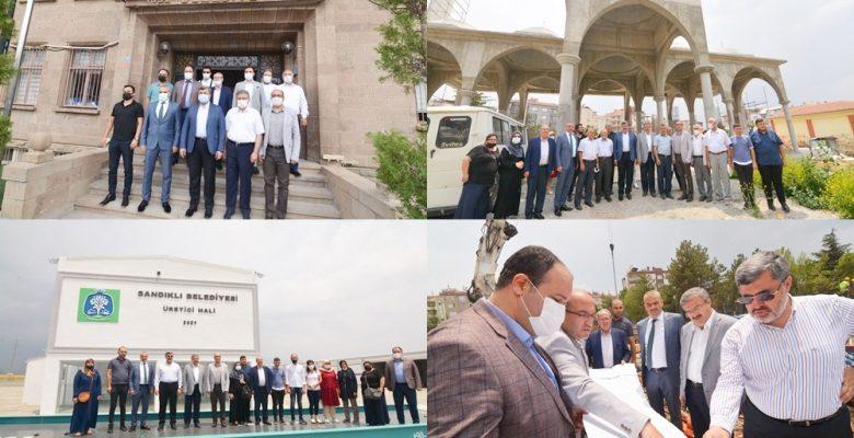 AK Parti Milletvekilleri Yurdunuseven  ve Özkaya'dan  Sandıklı ziyareti