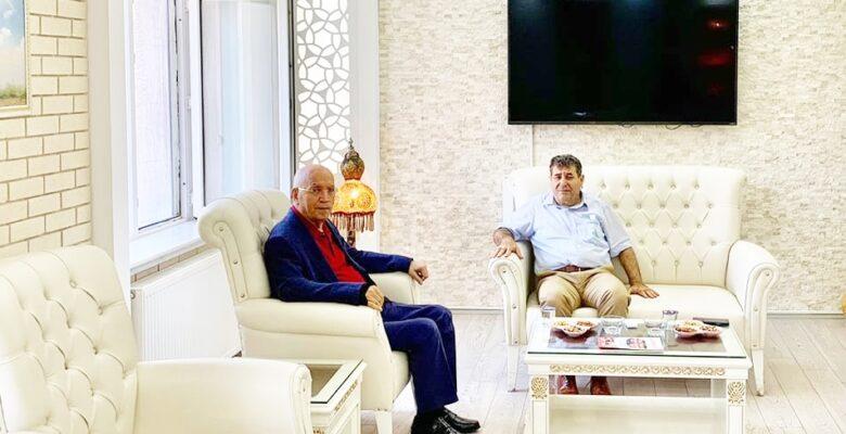 Başkan  Fethi Yaşar'dan ziyaret